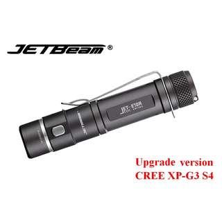 {MPower} 升級版 Jetbeam E10R USB 充電 CREE XP-G3 S4 650流明 LED Flashlight 電筒 (2A, 14500) - 原裝正貨