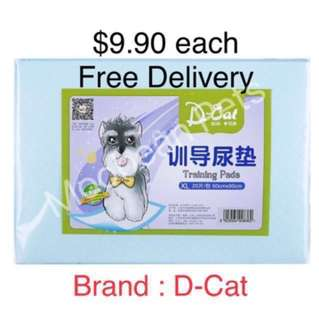 Pet Pee Pads, Free Delivery $9.90