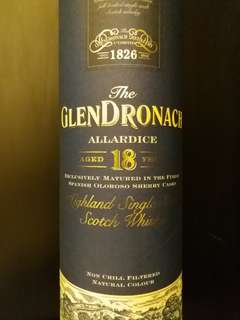 Glendronach 18 years 46%vol