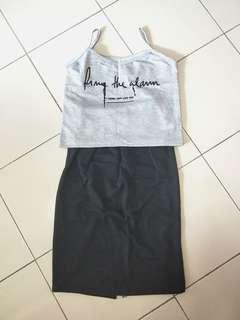 🚚 Two Piece Dress