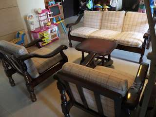 Wooden Sofa - For Sale