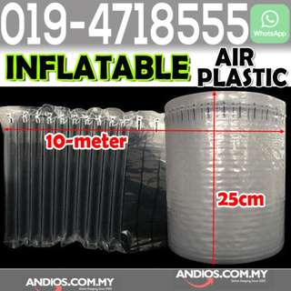 In-Stock✔Inflatable Air Cushion Packaging Protective Bubble Pack Wrap 25cm*10meter