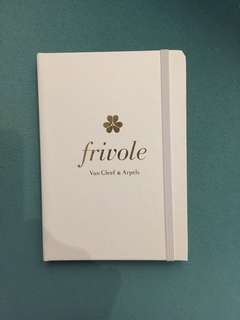 Van Cleef & Arpels Notebook 15cm x 10.5cm