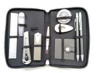Portable stationery case