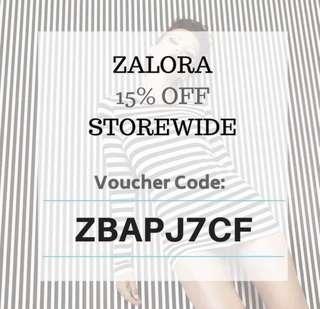Zalora Voucher Code