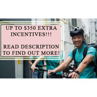 Deliveroo Rider - Extra Referral Incentives for You