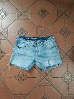 Maong Denim Shorts
