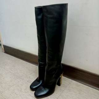 Gucci 長靴鉚釘 原價45000