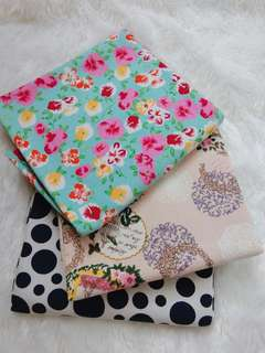 Take all kain kanvas @150cm x 48cm , motif bagus no free ongkir
