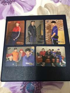 EXO Yes Card (5 Pieces)