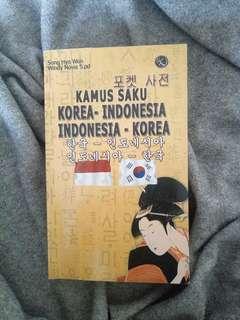 kamus saku korea - indonesia & indonesia - korea kashiko