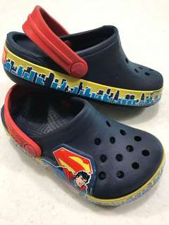 Aunthentic Crocs Superman