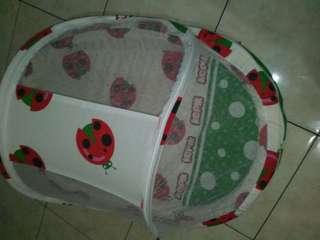 Kasur bayi + kelambu