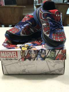 Stride Rite Ultimate Spiderman with light