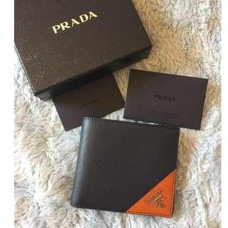 prada wallet 男裝銀包