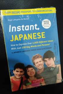 Tuttle Instant Japanese - Instant Passport to Communicatiom