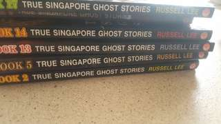 'True Singapore Ghost Story' Books(6 for $10)