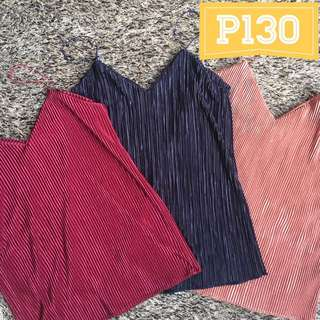 Pleated cami top (BRAND NEW)