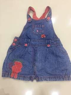 Baby denim dress