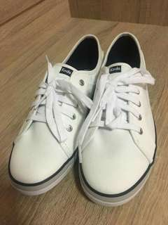 Brand New and Authentic: Keds Coursa White Sneakers