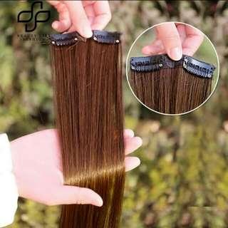 HAIR CLIP EXTENSIONS