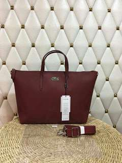 LACOSTE Tote bag AUTHENTIC