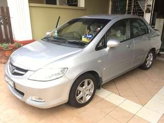 Used car (Honda city)