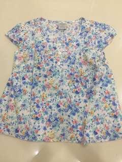 Anakku floral blouse