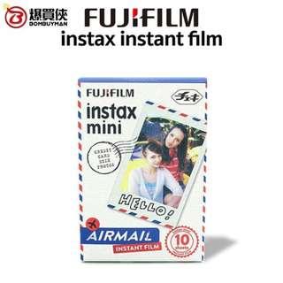 [$200 任揀4盒*] Fujifilm 富士即影即有相紙 - Instax Mini Instant Color Film (10 Sheets) - Airmail