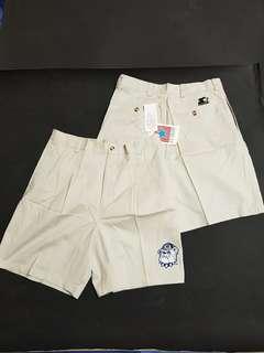 vintage 90s nba nfl nhl mlb 老品 古著 starter  喬治城 白襪 短褲