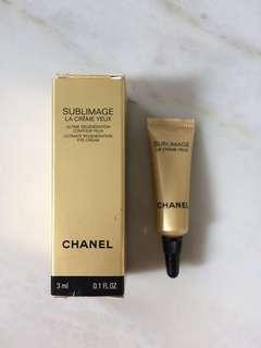 New sample Chanel SUBLIMAGE La Creme Yeux eye cream