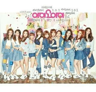 TAKINGS ORDERS FOR IOI ALBUMS!