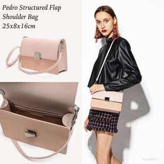 Original Pedro Structured Flap Sling Bag