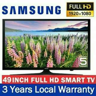 "Samsung / LG. 40"" & 49"". Brand new and sealed. Smart Digital LED TV. With warranty."