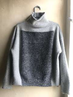 grey and glitter sweater import