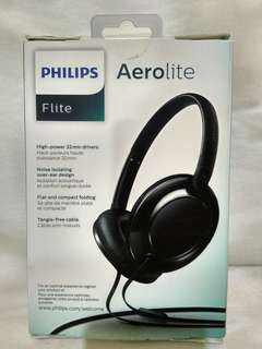 Philips Flite Aerolite Headphones with Mic