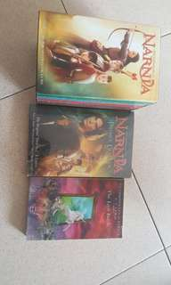 'narnia' Books (all for $29 can nego)