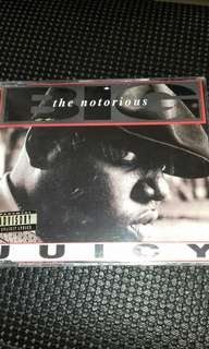 Notorious B.I.G rare Juicy CD single original USA pressing like new Rap , Puff daddy