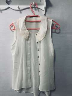 Primark Mandarin collar top
