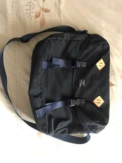 Navy blue messenger bag