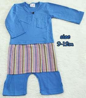 Baju Melayu Baby 9-12Bulan