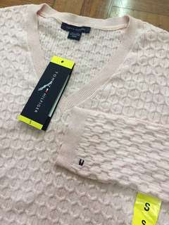AUTH TOMMY HILFIGER LONGSLEEVES LIGHT PINK