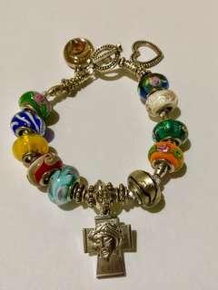Rosary Charm Bracelet