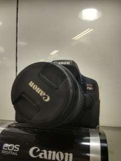 Canon EOS 750D Promo Free 1X Cicilan Bunga Ringan Tanpa Kartu Kredit
