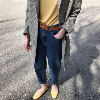 INSTOCK plain yellow tshirt