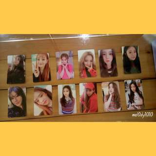 [Preorder] (G)I-DLE photocards