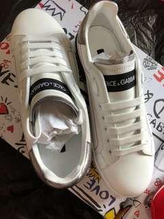 Dolce & Gabbana D&G sneakers 2018新款 購自米蘭 全新