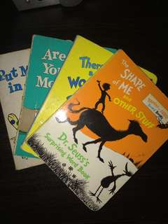 BOOK SALE Dr. Seuss Book Set of 4 books