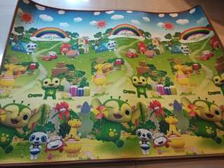 186x153cm baby play mat to let go