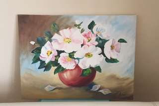 Hand painted oil painting (60 x45cm)